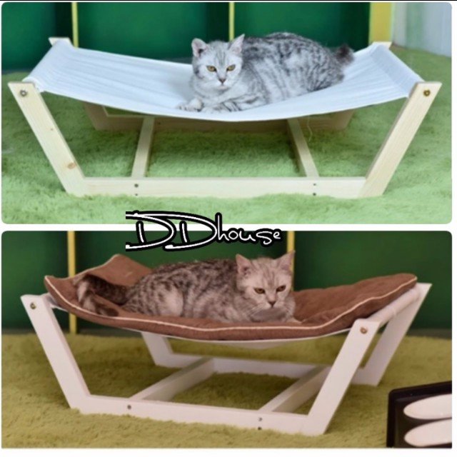 wooden pet bed hammock pet bed pet lounge studios bamboo hammock pet hammock bed dog nap mat cat sleeping pad cushion bamboo lounge pets supplies     wooden pet bed hammock pet bed pet lounge studios bamboo hammock      rh   sg carousell