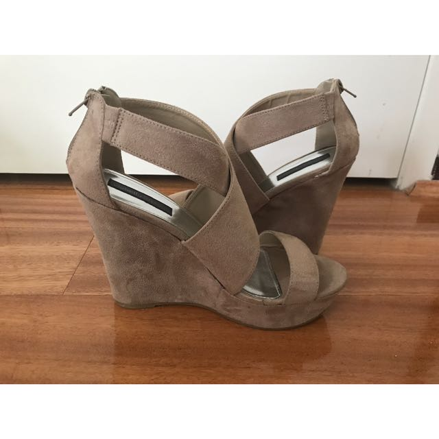 WTS Isabella Brown Wedges