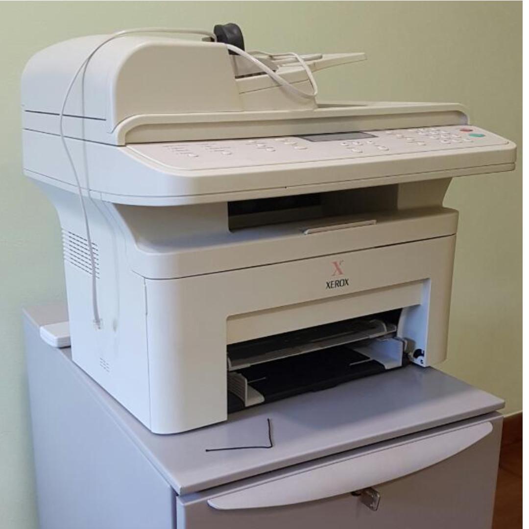 Xerox WorkCentre PE220 - multifunction printer ( B/W