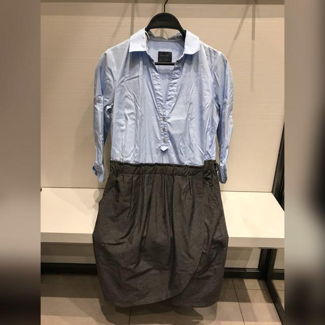 Zara Denim Dress #YearEndSale