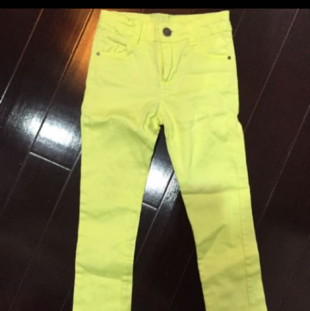 zara kids pants size 4-5
