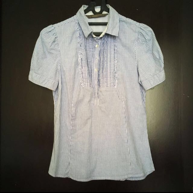 Zara Shirt Kemeja Kerja