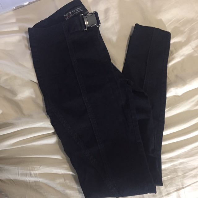 Zara Trousers W. Belt