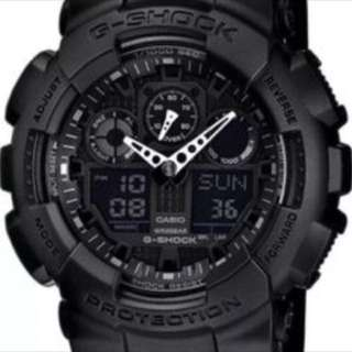Casio G-Shock 5081 GA-100 (black)