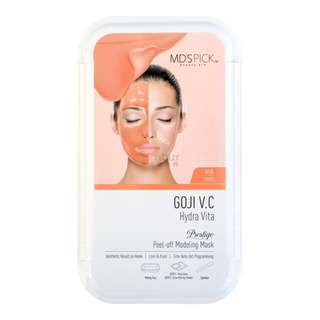 MD'S PICK GOJI V.C Hydra Vita Peel-Off Modeling Mask 1 Sheet