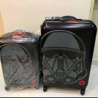 Promotion: Black Star Wars 24 Inch Travel Luggage