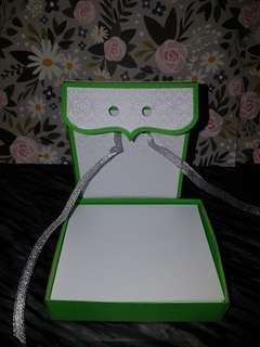 Note paper box