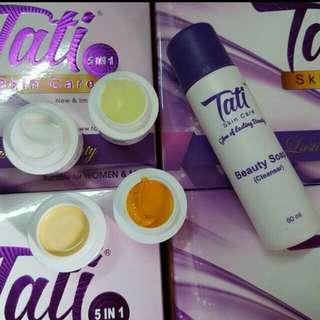 Tati Skincare Set 5 in 1 SALE ENDS 15.1.18