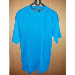 Tshirt oblong biru