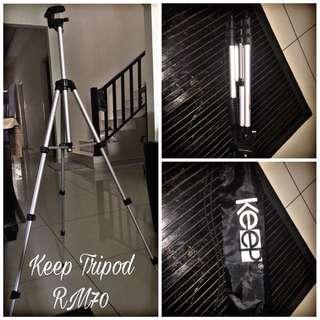 Tripod keep