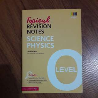 PHYSICS TOPICAL REVISION NOTES