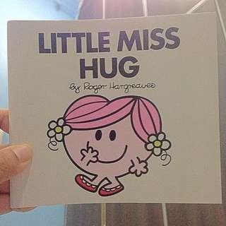 Mcd Mcdonalds Happy Meal Little Miss Hug Book SWAP