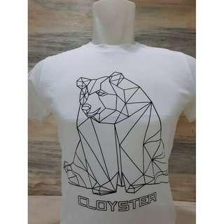 Kaos Oneck Laki-Laki Motif Beruang