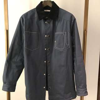GIVENCHY[RUNWAY] cotton canvas jacket