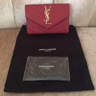 YSL Monogram Envelope Wallet