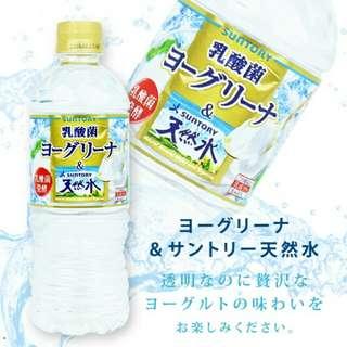日本 SUNTORY 乳酸菌 優格風味 透明飲品 540ml