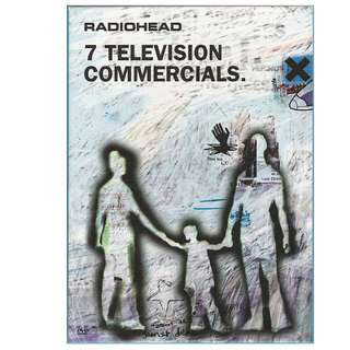 Coming in !Mint sealed Radiohead 7 television commercials dvd cd rock
