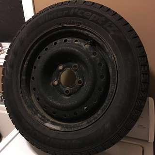 Honda Civic EX winter tires. All for $280 will post more pictures when I take out of storage. Sold car.