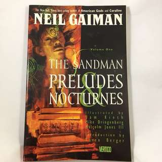 Neil Gaiman The Sandman Vol. 1 - Prelude and Nocturnes