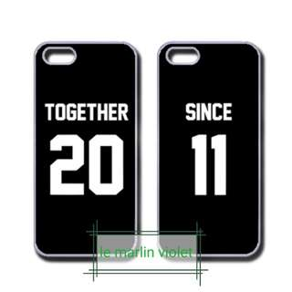 💜 Customise Phone Case - Couple Together Since Series