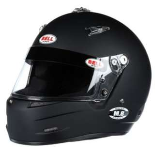 Bell Racing Helmet M.8 M8 SA 2015 V.15 BRUS HELMET MATTE BLACK WHITE ONLY SIZE SMALL MEDIUM LARGE  X-LARGE XL ONLY Automotive Car Racing Helmet