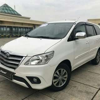 Toyota grand innova G 2.5 at diesel 2015 putih