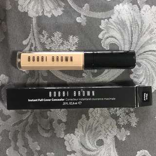 🍋 BOBBI BROWN INSTANT FULL COVER  CONCEALER