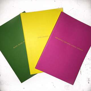 (All 3) Paper & Co. Notebooks