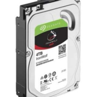 $180 Brand New in Sealed Box - Seagate 4TB IronWolf NAS Hard Disk