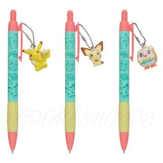 MECHANICAL PENCIL WITH FIGURE [OTEIRE PLEASE] - POKEMON CENTER EXCLUSIVE