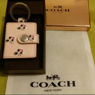 Coach Key Chain 鎖匙扣