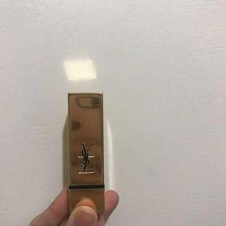 換物)YSL奢華緞面唇膏52