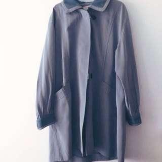 🚚 淺藍古著外套