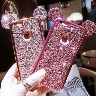 3D mickey mouse ears case
