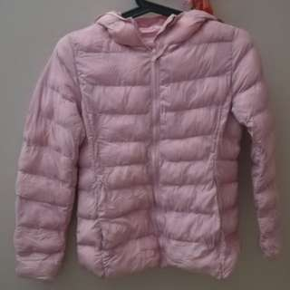 Kid Uniqlo Winter Coat - Pink #ramadan50