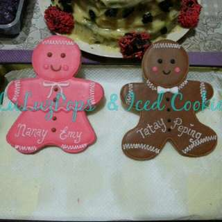 Personalized Sugar Cookie Giveaways