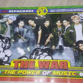 EXO - THE POWER OF MUSIC OFFICIAL POSTER