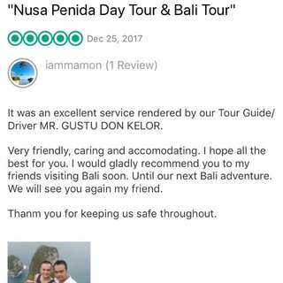 Review: BALI DRIVER / TRANSPORT