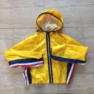 Tommy Hilfiger crop rain jacket
