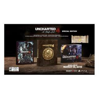 PS4 Uncharted 4 A Thief's End (Special Edition) R3