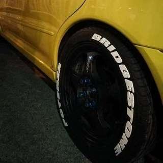 Tire Stickers / Bomb