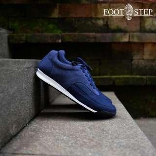 Nitro Navy - Footstep Footwear   Sepatu Kets Sneakers Pria Warna Biru Tua Size 40-44