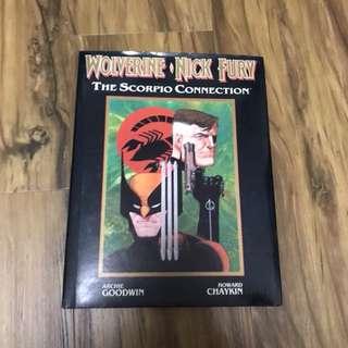 Wolverine and Nick Fury Hc graphic novel