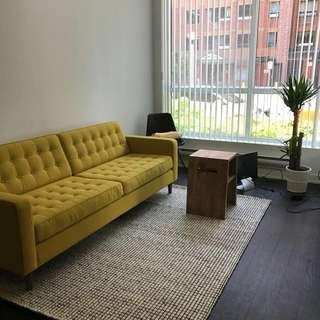 REDUCED!! EQ3 Couch - BRAND NEW