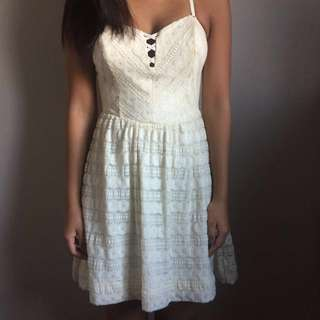 New GUESS White Lace Dress