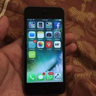 iphone 5s 32gb good condition!