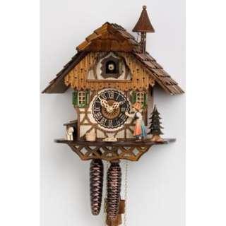 HONES Hand made Little black forest house Cuckoo clock