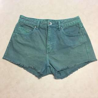 Riders Size 10 Teal denim shorts