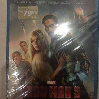 Iron Man 3 Blu Ray Disc