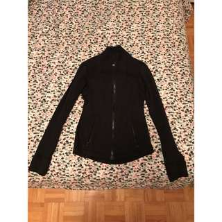 Lululemon define black jacket sz4